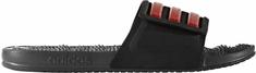 Adidas natikači Adissage 2.0, črni/rdeči