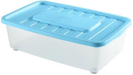 Heidrun škatla za shranjevanje pod posteljo 25 l, modra