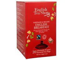 English Tea Shop Černý čaj English Breakfast 20 pyramidek