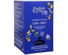 English Tea Shop Černý čaj Earl Grey s bergamotem 20 pyramidek