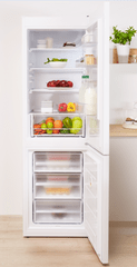 Indesit CAA 55 NF SM Szabadonálló kombinált hűtő, A+
