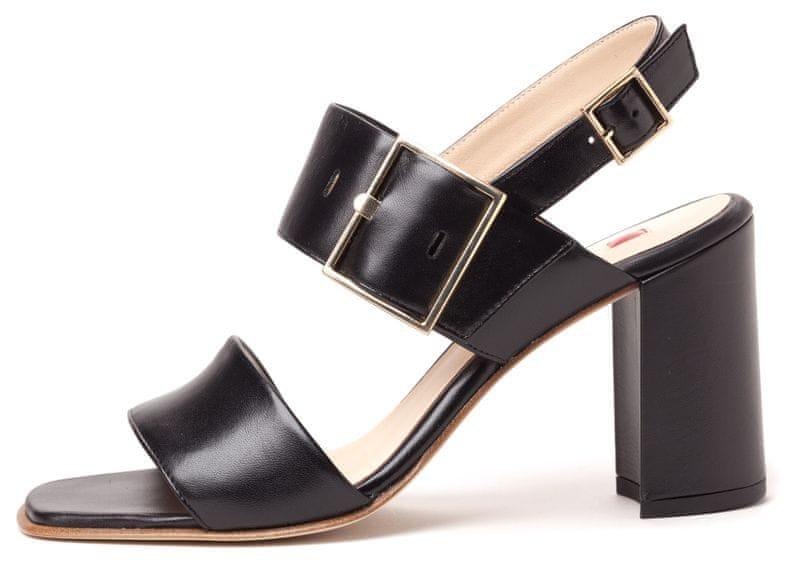 Kozene damske lakovane sandaly levně  0e5206f273