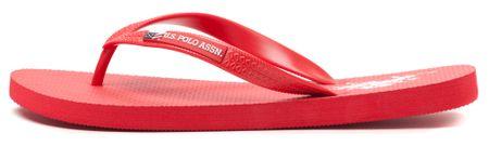 U.S. POLO ASSN. férfi flip-flop papucs Remo 44 piros