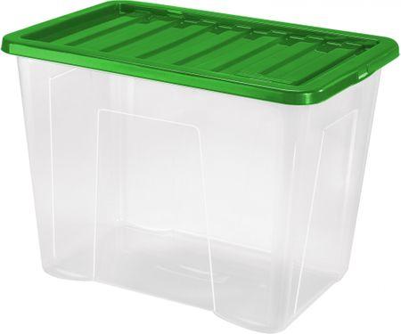 Heidrun škatla za shranjevanje Quasar, 80 l, zelena