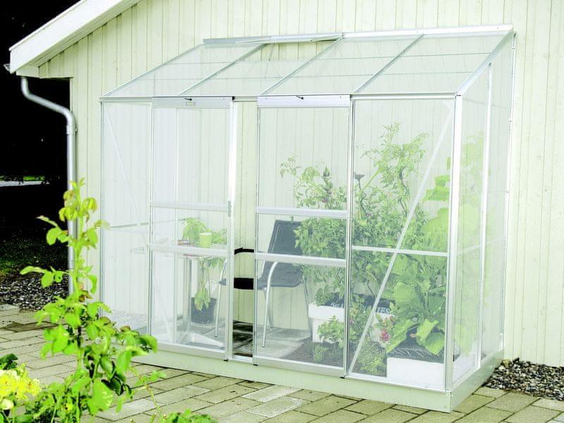 VITAVIA skleník VITAVIA IDA 3300 PC 4 mm stříbrný