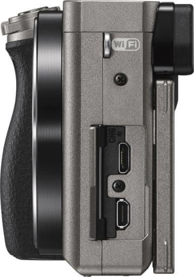 Sony digitalni fotoaparat Alpha A6000 ILCE-6000L 16-50mm