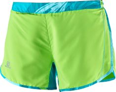 Salomon Agile Short W Green Flas/Blue Bird/Ename