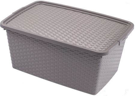 Heidrun škatla za zhranjevanje Ratan, 20 l, rjava