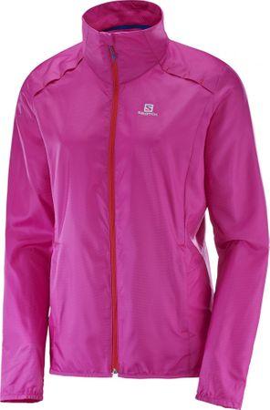 Salomon ženska jakna Agile Wind Jkt W, roza, M