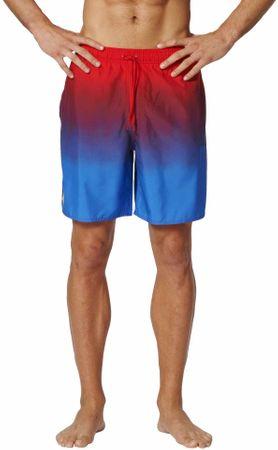 Adidas moške kopalke 3S Grpahic Ml, modre/rdeče, XL