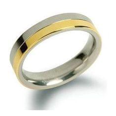 Boccia Titanium Snubný titánový prsteň 0129-02