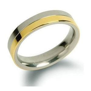 Boccia Titanium Snubní titanový prsten 0129-02 (Obvod 67 mm)