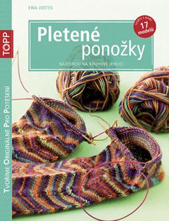 Jostes Ewa: Pletené ponožky najednou na kruhové jehlici