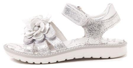 Primigi dekliški sandali 28 srebrna