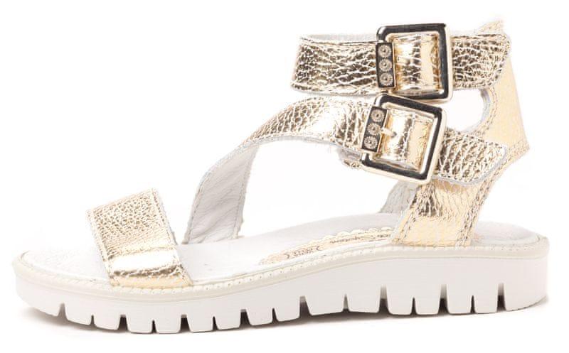 Primigi dívčí sandály 32 zlatá