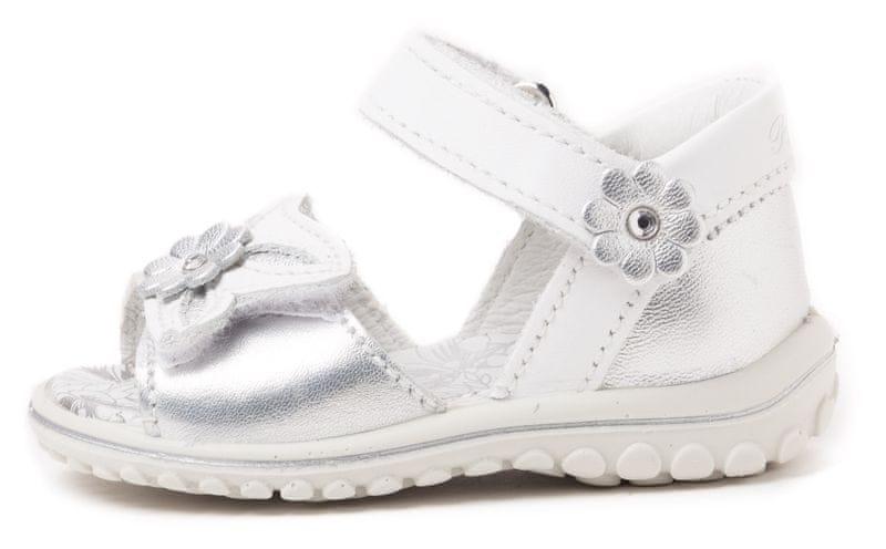 Primigi dívčí sandály 19 stříbrná