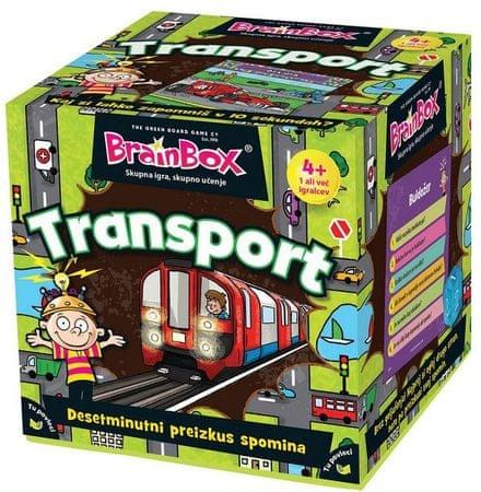 BRAINBOX družabna igra Transport 4+