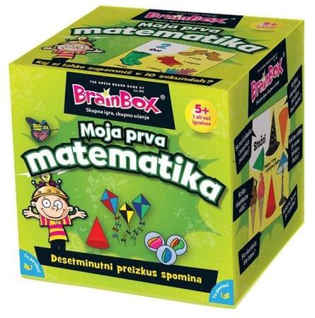 BRAINBOX družabna igra Moja prva matematika 4+