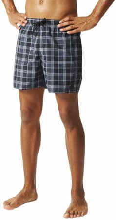 Adidas Check Short Sl Black/Dark Grey/White M