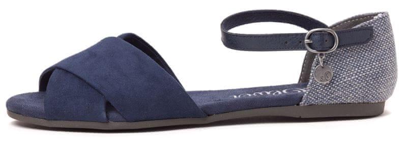 s.Oliver dámské sandály 39 modrá