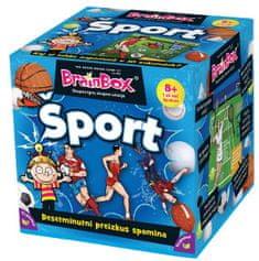 BRAINBOX družabna igra Šport 8+