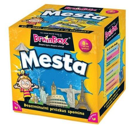 BRAINBOX družabna igra Mesta 8+