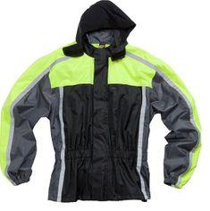 Dežna jakna ROAD 2.0, neonsko rumena