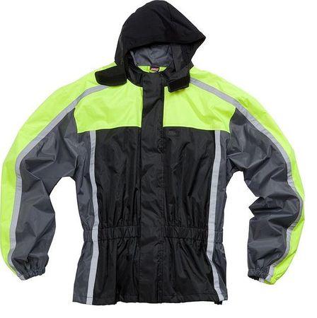 Dežna jakna ROAD 2.0, neonsko rumena, XXL