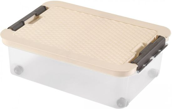 Heidrun Box s ratanovým víkem 25 l