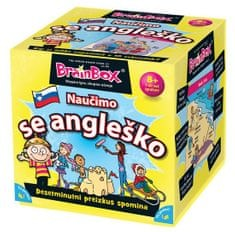 BRAINBOX družabna igra Naučimo se angleško 8+