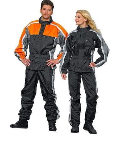 Dežne hlače ROAD 2.0, sivo-črne, XL