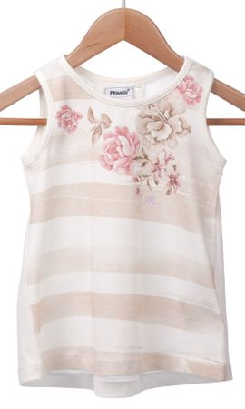 Primigi dekliška majica 116 smetane