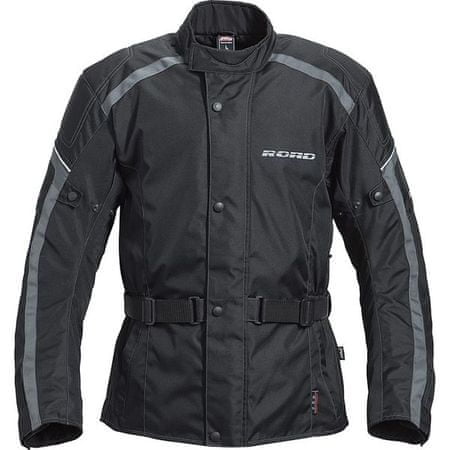 Motoristična jakna ROAD Touring 1.0, moška, črna, L