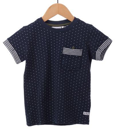 Primigi T-shirt chłopięcy 104 ciemnoniebieski