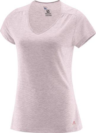 Salomon ženska majica Ellipse Ss, roza, M
