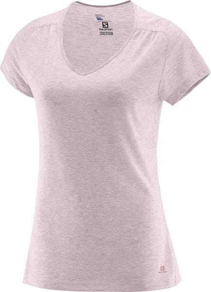 Salomon Ellipse Ss Tee W Pink Dogwood S