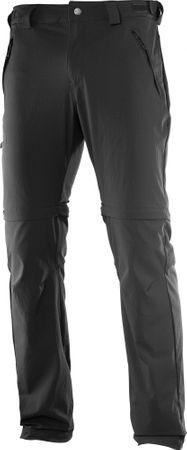 Salomon moške hlače Wayfarer Zip, črne, 52