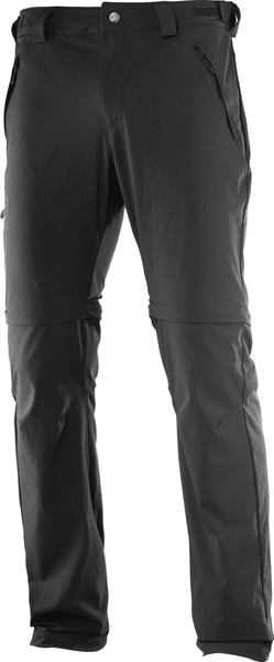 Salomon Wayfarer Zip Pant M Black 48