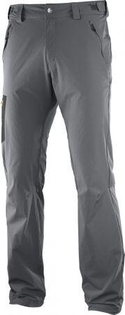 Salomon pohodniške hlače Wayfarer, sive, 50/R