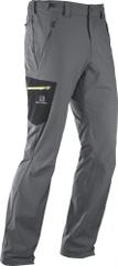 Salomon pohodniške hlače Wayfarer, sive