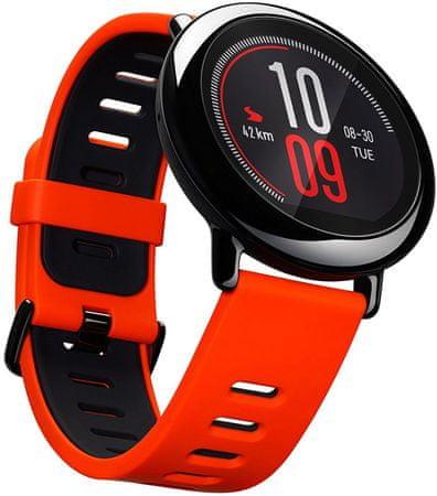Xiaomi Huami Amazfit Red - chytré sportovní hodinky