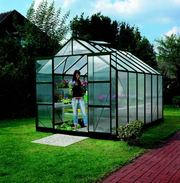 VITAVIA skleník VITAVIA URANUS 9900 PC 6 mm zelený