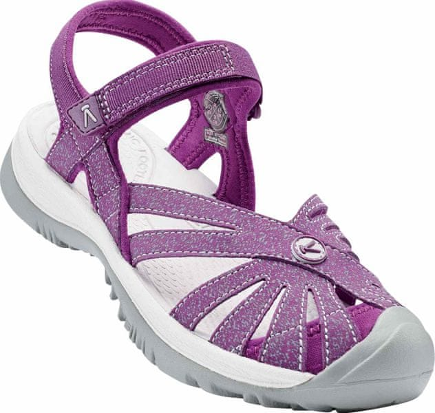KEEN Rose Sandal W Dark Purple/Purple Sage US 8,5 (39 EU)