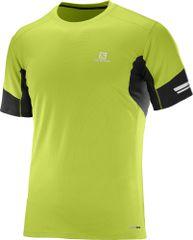 Salomon Agile Ss Tee M Lime Green/Black