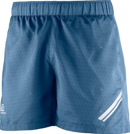 Salomon moške hlače Agile Short M, modre, M