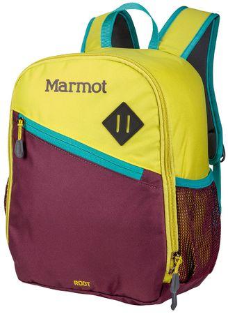 Marmot plecak Kid's Root Green Spice/Deep Purple