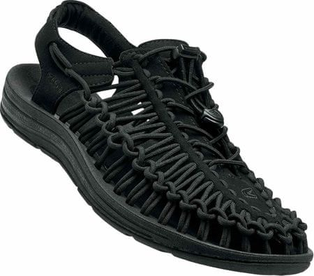 KEEN Sandały Uneek M Black/Black US 9 (42 EU)