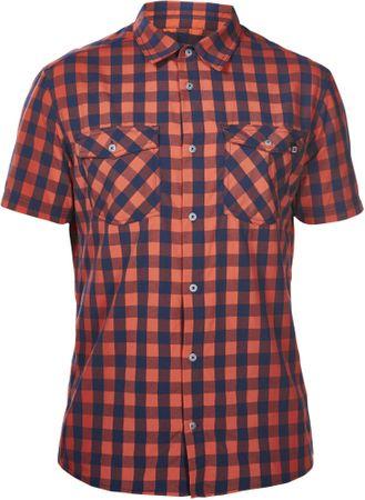 Berghaus kratka srajca Explorer 2.0, rdeče-modra, XXL