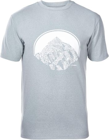 Berghaus Voyager Peak T Shirt Am Light Grey M