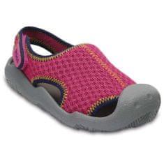 Crocs otroški sandali Swiftwater, roza